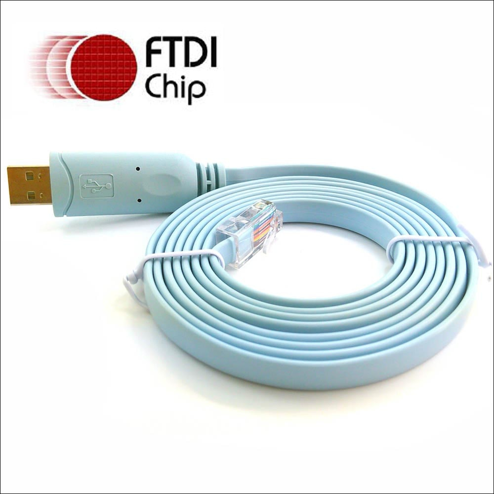 Sinforcon Ft231 Usb Rs232 Rollover To Rj45 Cab Console Rj45 Ftdi Usb - Cisco Console Cable Usb To Rj45 Wiring Diagram