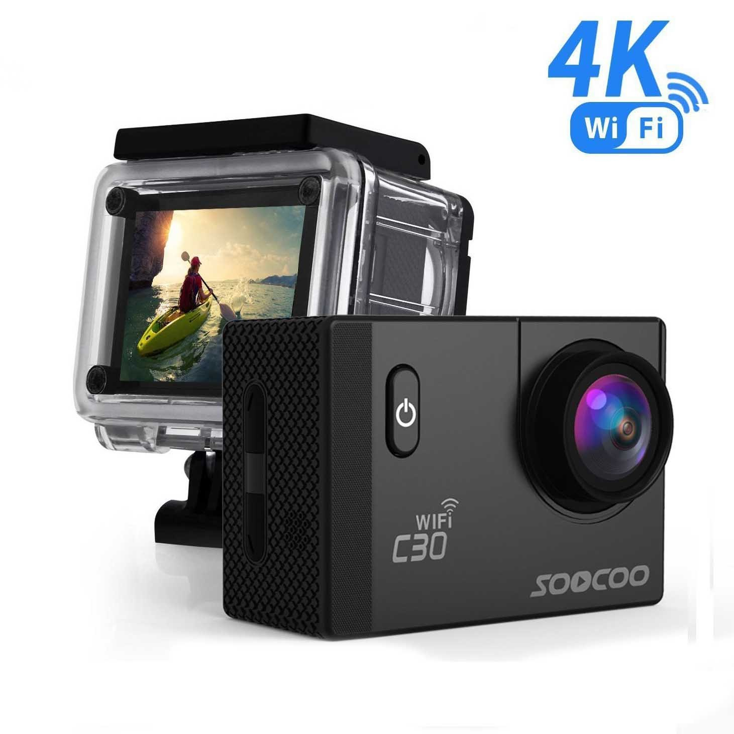 Soocoo C30 Sports Action Camera Wifi 4K 24Fps - 4K Action Camera Micro Usb Wiring Diagram