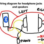 Stereo Headphone Jack Diagram   Data Wiring Diagram Schematic   Headphone Jack To Usb Wiring Diagram