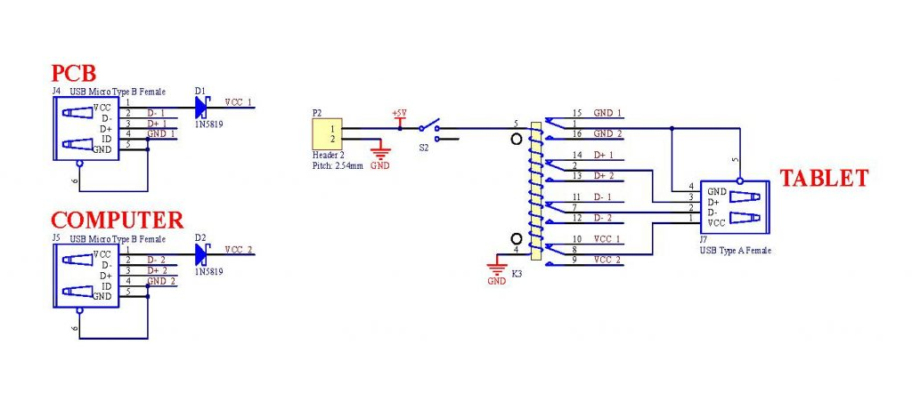 Switch Wiring Diagram Usb Hub