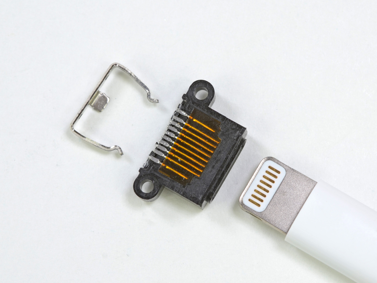Teardown Revives Hopes That Lightning Might Be Usb 3.0-Compatible - Lightning Connecter To Usb Wiring Diagram