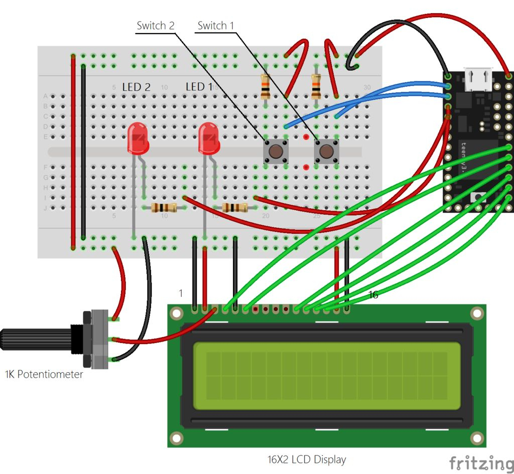 Teensy Midi Usb Foot Controller For Controlling Mobius Looper Using - Wiring Diagram For Usb Foot Pedal