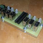 This 6X Usb Charger Has A Current Monitor   Atmel   Bits & Pieces   Diy Power Bar Wiring Diagram Usb Charger