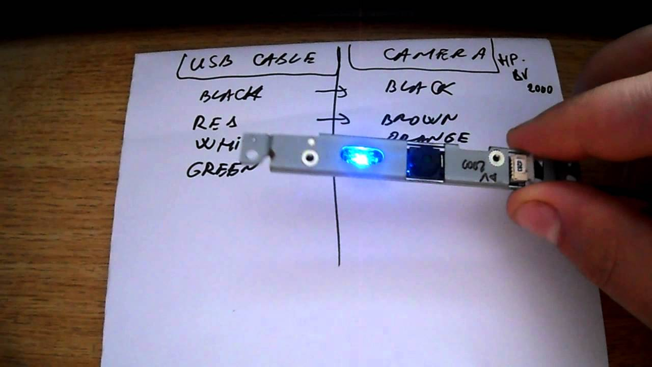 Transform A Laptop Camera Into A Usb Web Cam - Youtube - Convert Computer Cam To Usb Wiring Diagram