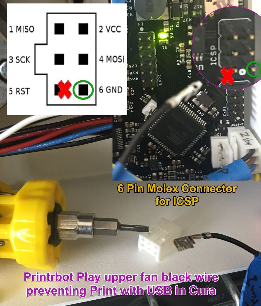 Troubleshooting Printrbot Play's Usb Connection: 4 Steps (With Pictures) - Printrbot Printrboard Micro Usb Wiring Diagram