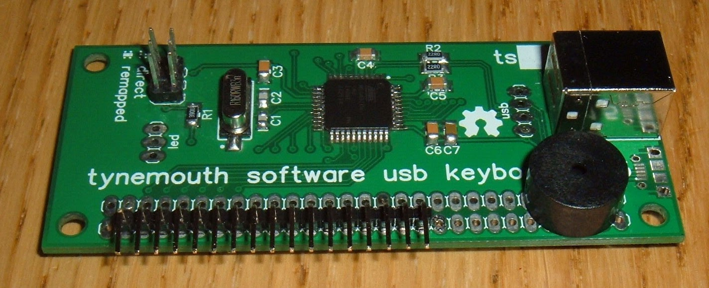 Tynemouth Software: Bbc Micro Usb Keyboard - Keyboard Wiring Diagram Usb