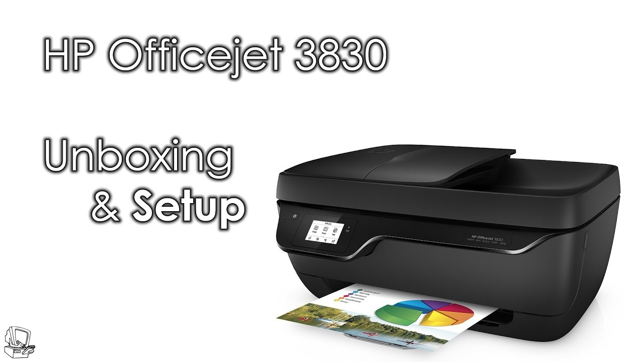 Unboxit: Hp Officejet 3830 Unboxing - Youtube - Hp Officejet 3830 Setup Wiring Diagram Usb To Router
