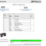Usb 2.0/1.1 Header Pinout Diagram @ Pinoutguide   Single Usb Wiring Diagram Motherboard