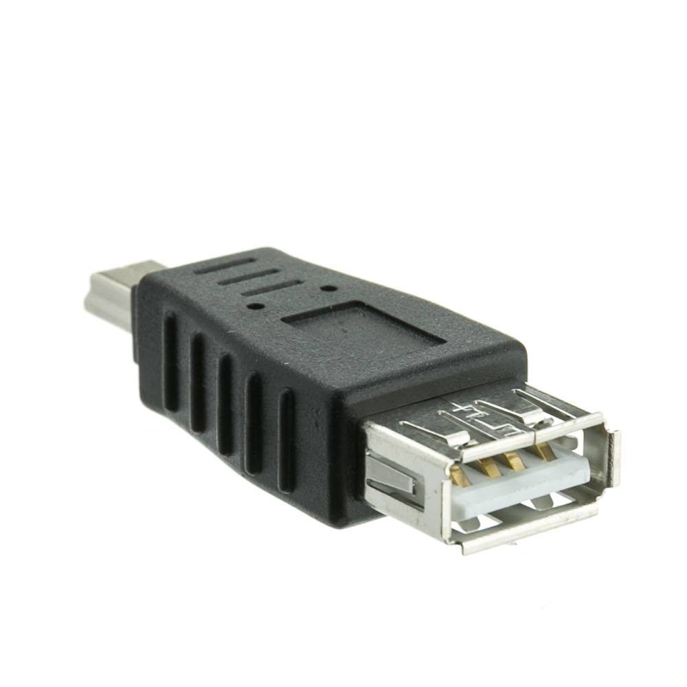 Usb A To Usb Mini-B Adapter - A Female To Mini-B 5 Pin Male - Usb Mini B 5 Pin 5 Wiring Diagram