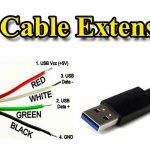 Usb Cable | Extension Different Wire Color   Youtube   6 Wire Usb Wiring Diagram For Cam