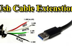 Usb Cable | Extension Different Wire Color – Youtube – Telephone Line Cord To Usb Wiring Diagram