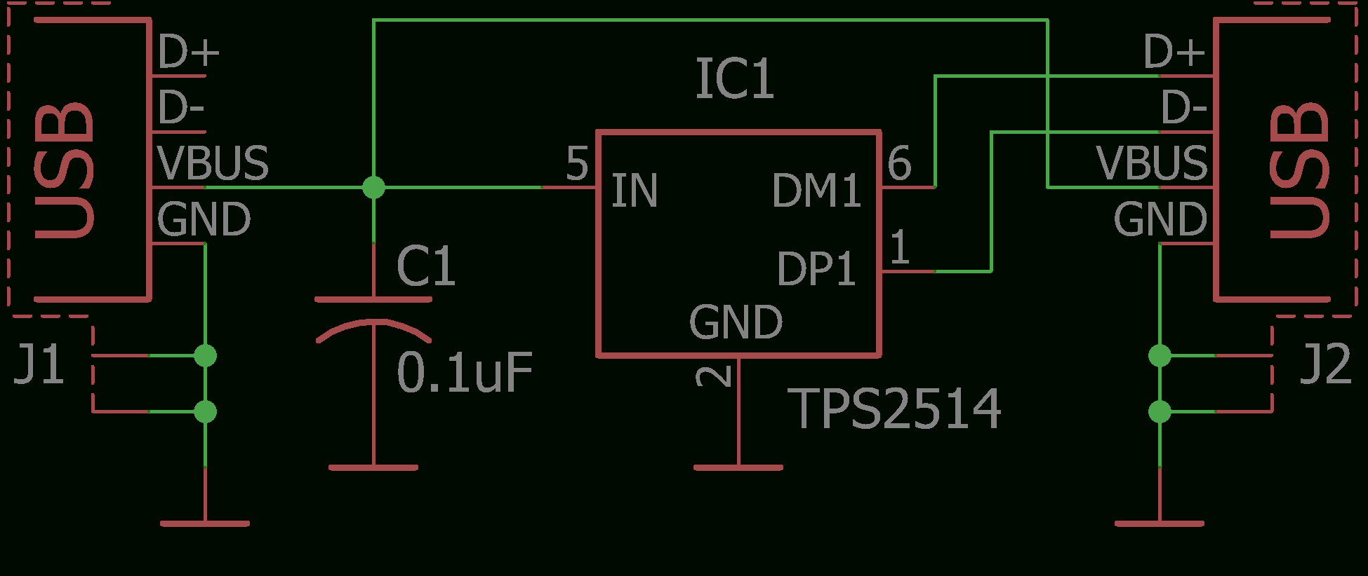 Usb Charging Without Fear - Circuit Diagram Of Usb Charger Wiring