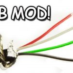 Usb Cord Modding, Extending, Splicing   Youtube   6 Prong Usb Wiring Diagram