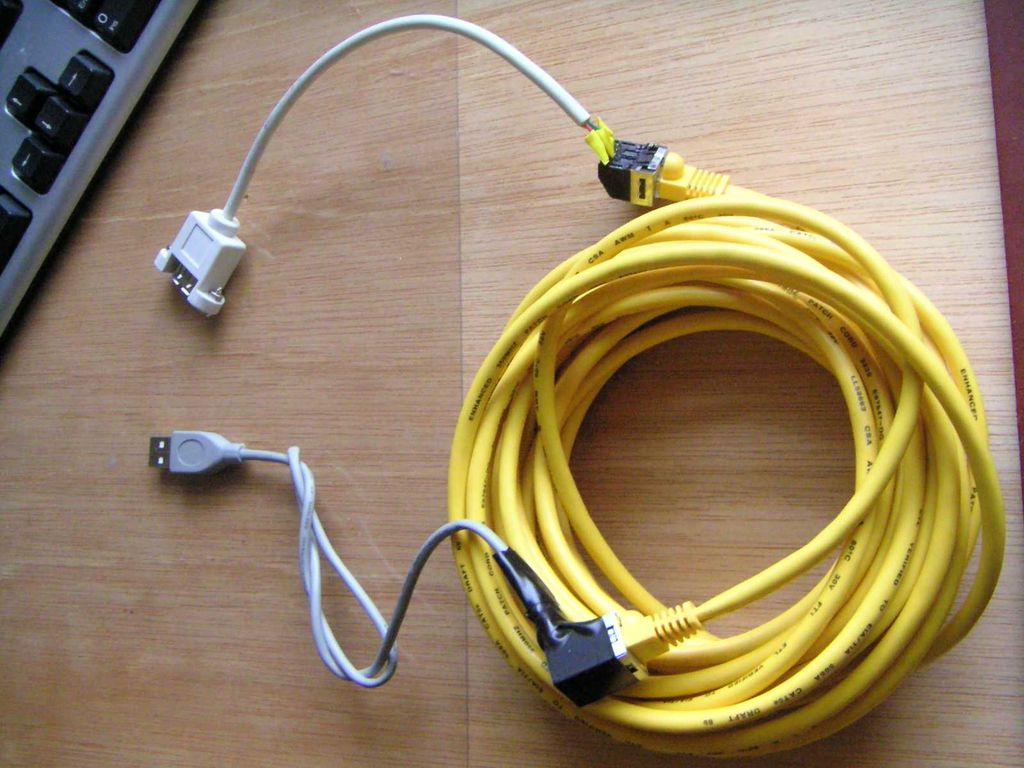 Usb Dongles For Usb Over Cat5 Connection - Usb To Vga Cable Wiring Diagram