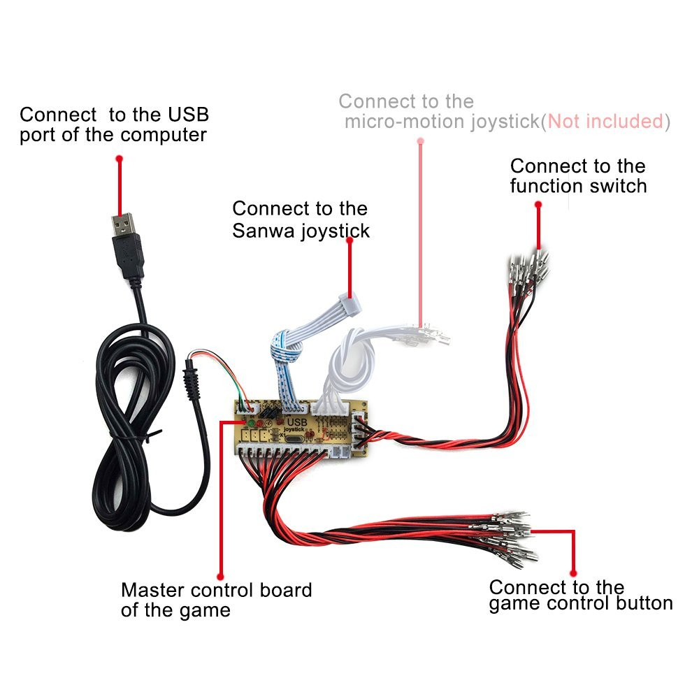 Usb Joystick Wiring Diagram - Great Installation Of Wiring Diagram • - Wiring Diagram For A Usb Joystick