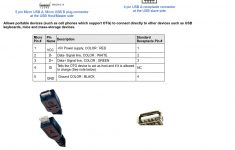 Usb Micro Plug To Usb Standard Receptacle For Use With Usb Otg (On – Micro Usb B Wiring Diagram