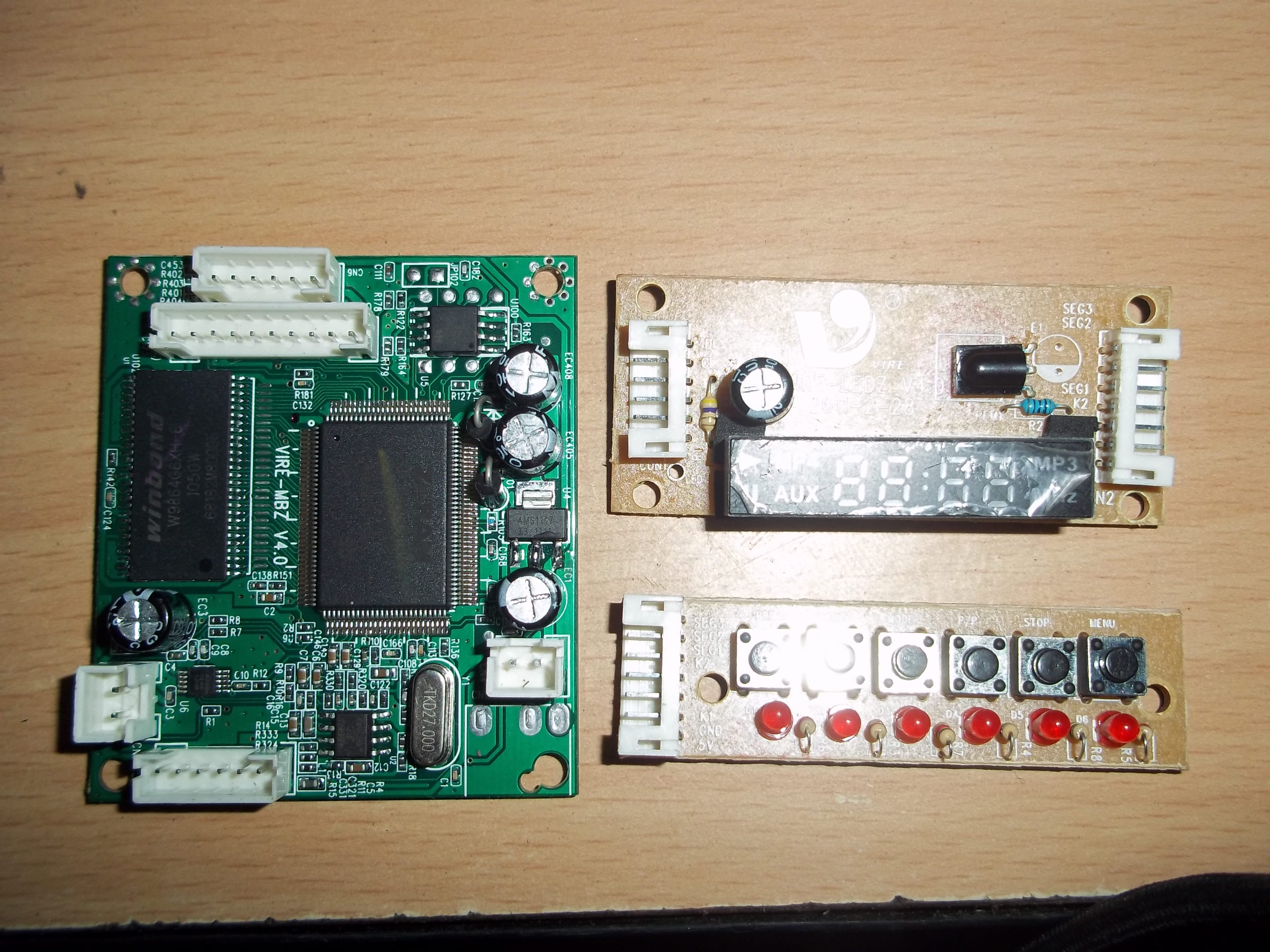 Usb Mp4 Video Player Kit Review – Circuits Diy - Usb To Video Wiring Diagram