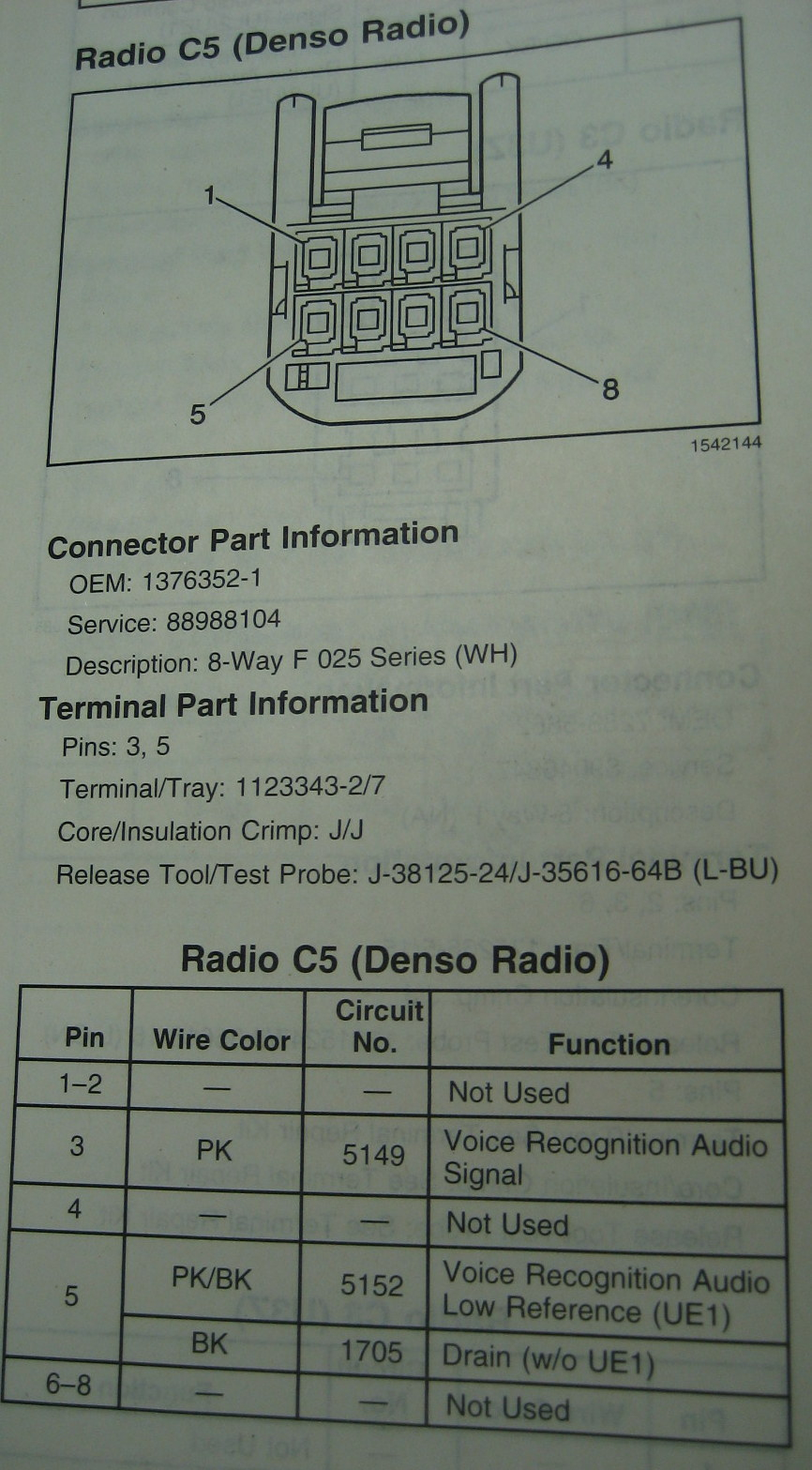 Wiring Diagram For 2013 C6 Corvette Navigation Radio Gps