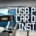 Usb Port Installed In Car Dash   Youtube   Wiring Diagram For Usb Charger To Car Harness