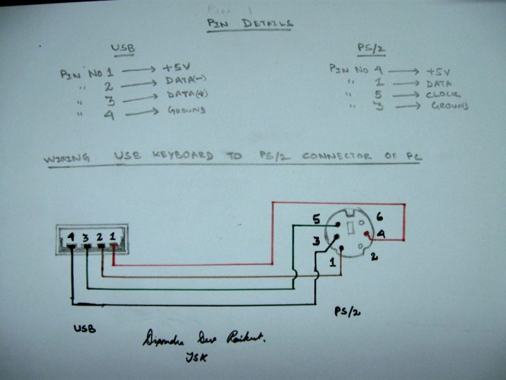 Wiring Diagram Usb A To A
