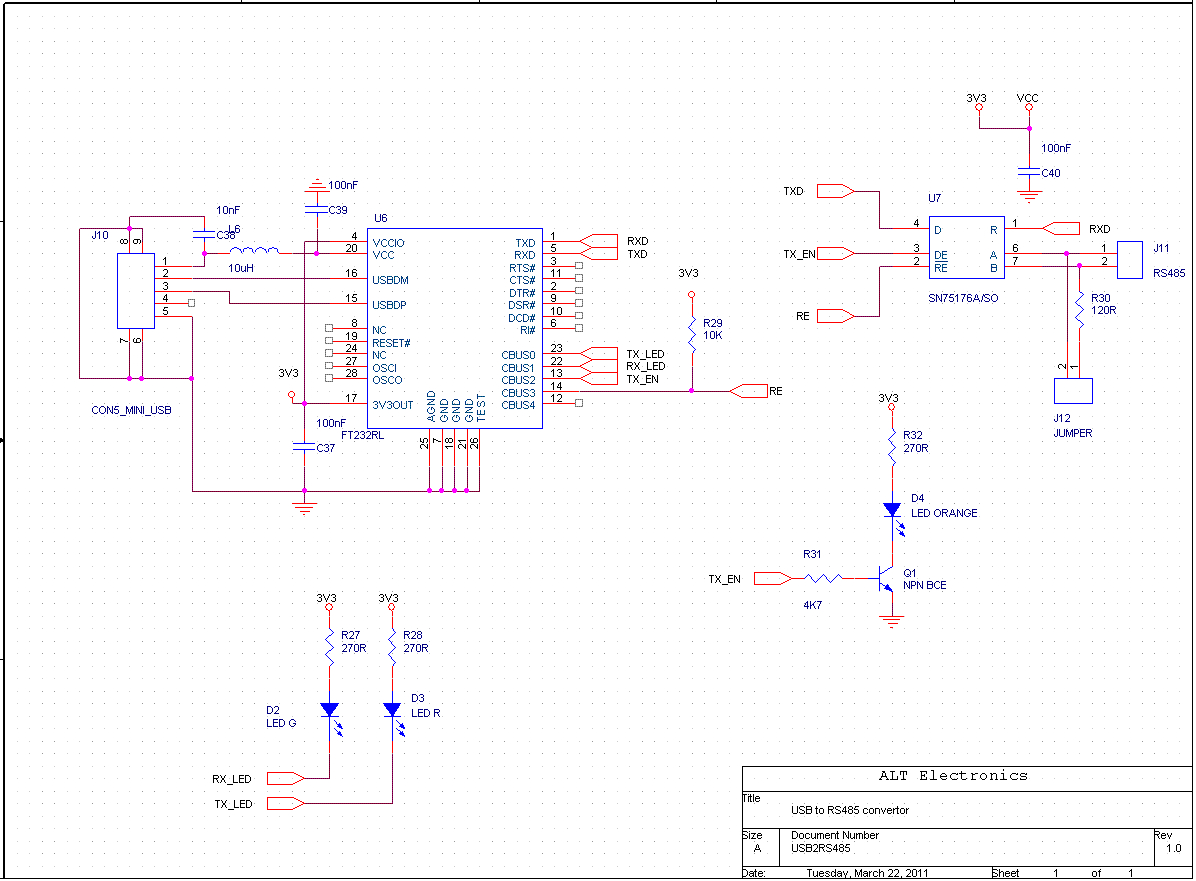 Usb To Rs485 Converter - Usb To Rs485 Converter Wiring Diagram