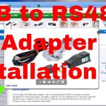 Usb To Rs485 Pc Adapter Installation   Youtube   Rs485 To Usb Wiring Diagram