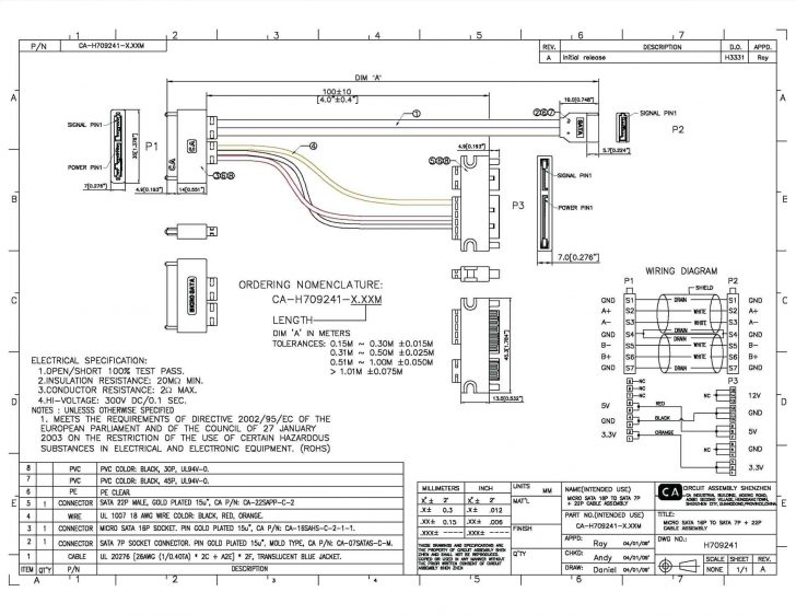 Usb To Sata Cable Wiring Diagram