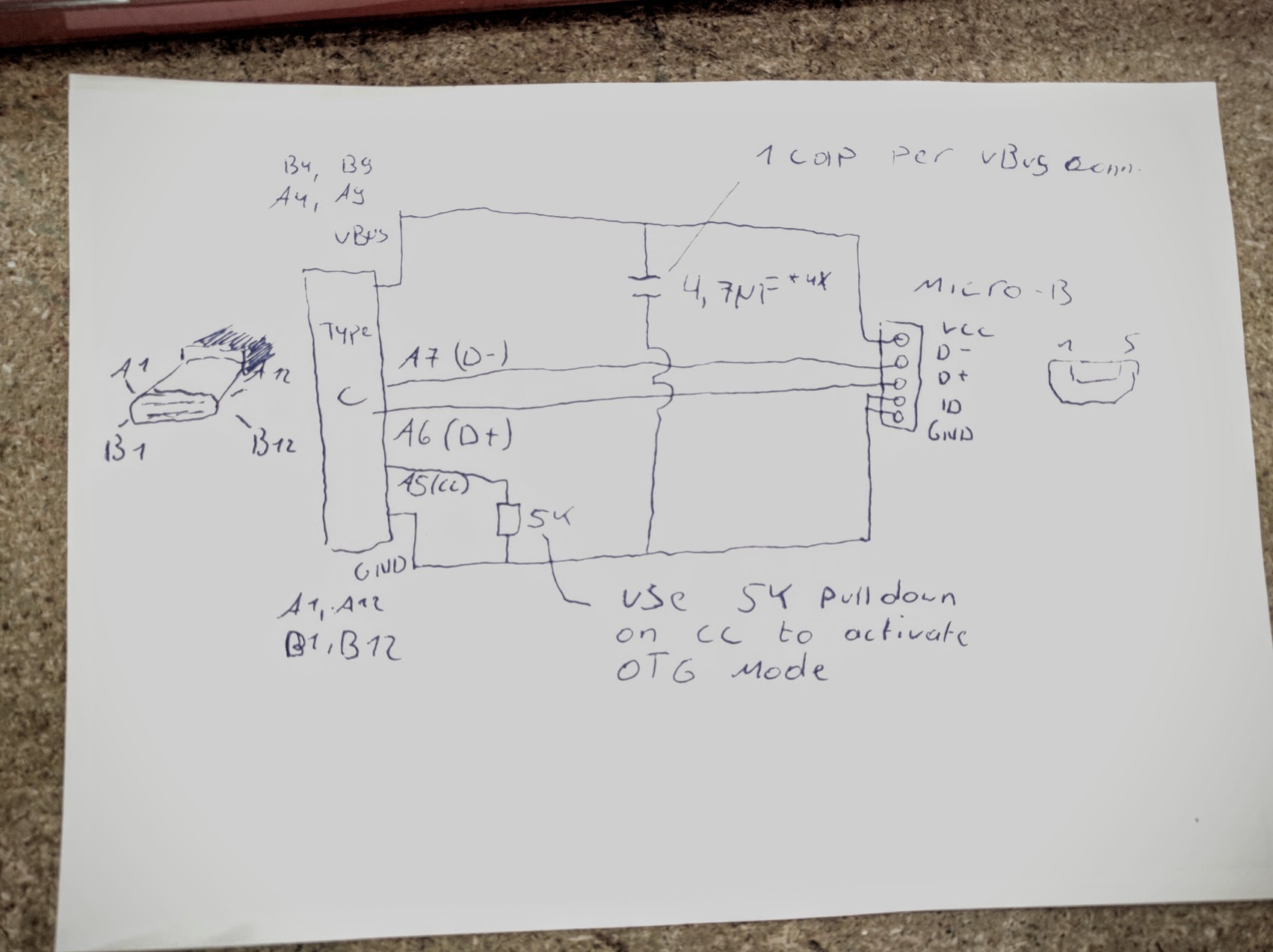 Usb Type C Mod Time! - Micro Usb To Usb C Wiring Diagram