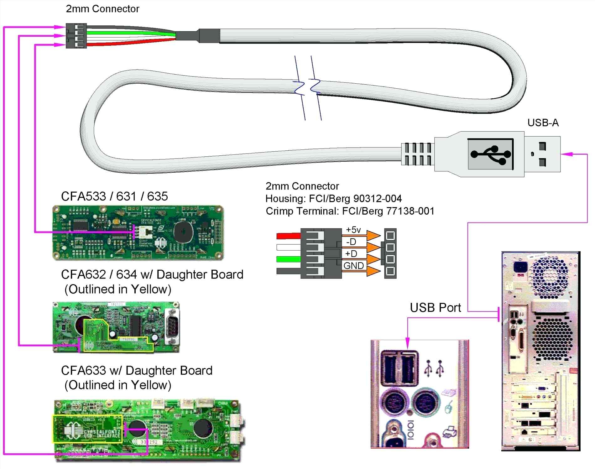 Usb Wiring Diagram - Design Of Electrical Circuit & Wiring Diagram • - Usb To Db9 Wiring Diagram