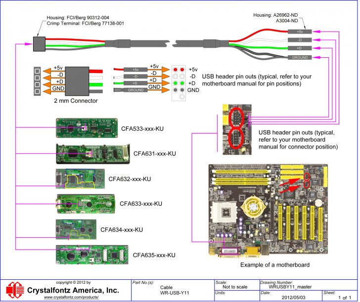 Ps2 5Wire Keyboard To Usb Wiring Diagram