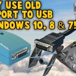 Use Old Gameport Joystick On Windows 10 8 7   Gameport To Usb Nest   Gameport To Usb Wiring Diagram