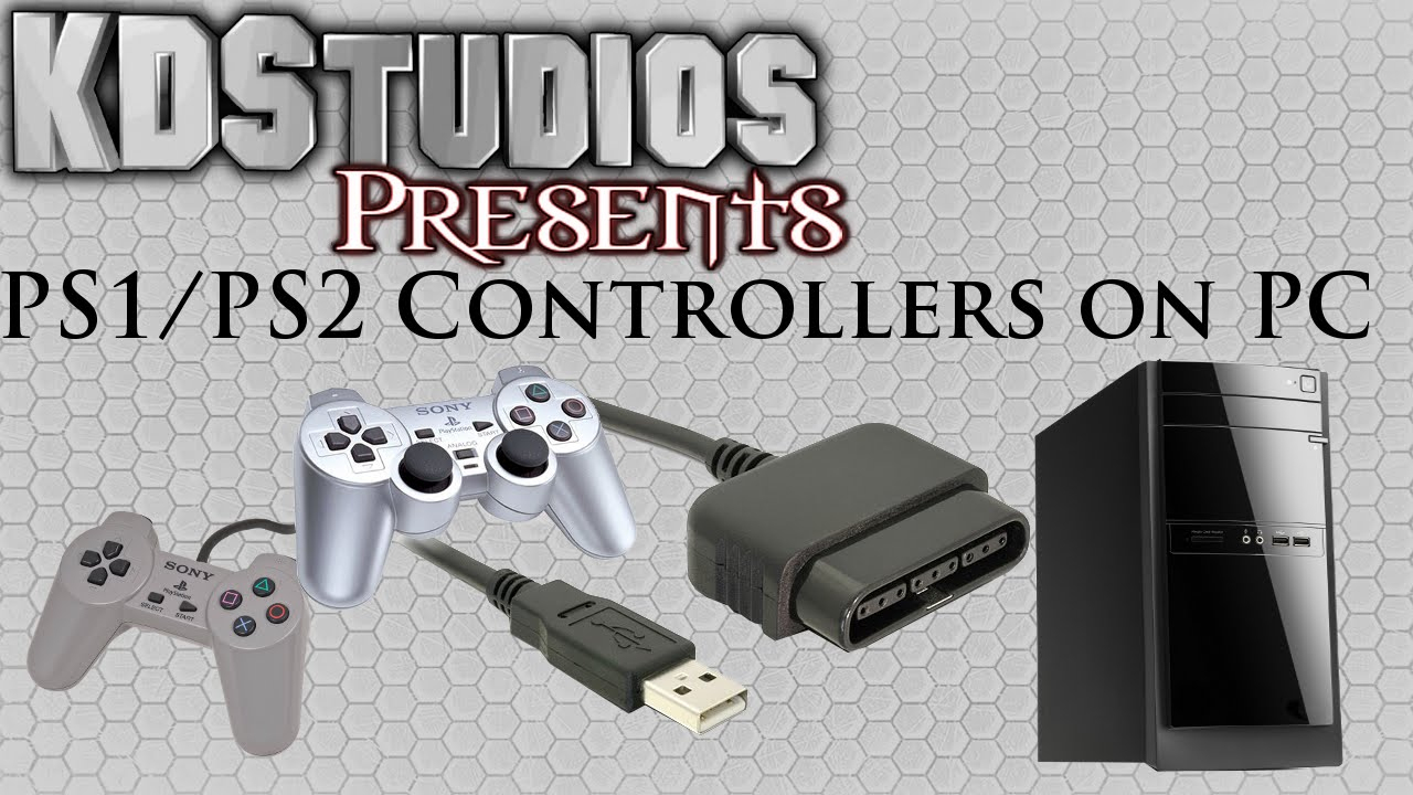 Using Ps1 Or Ps2 Controllers On The Pc - Ps To Usb - How To Tutorial - Ps2 Controller To Ps3 Usb Wiring Diagram Without Adapter
