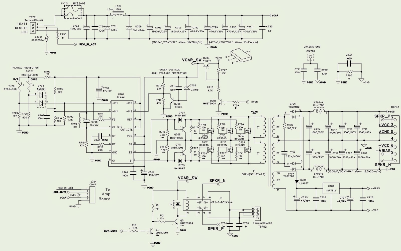 Various Diagram: Jbl Ms A5001 Schematic Power Amplifier And Smps - Jbl Usb Wiring Diagram