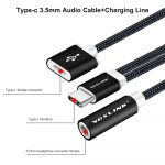 Voxlink Usb C Cable Usb Type C To 3.5Mm Audio Jack Headphone Cable   Usb To 3.5 Mm Jack Adapter For Charging Wiring Diagram