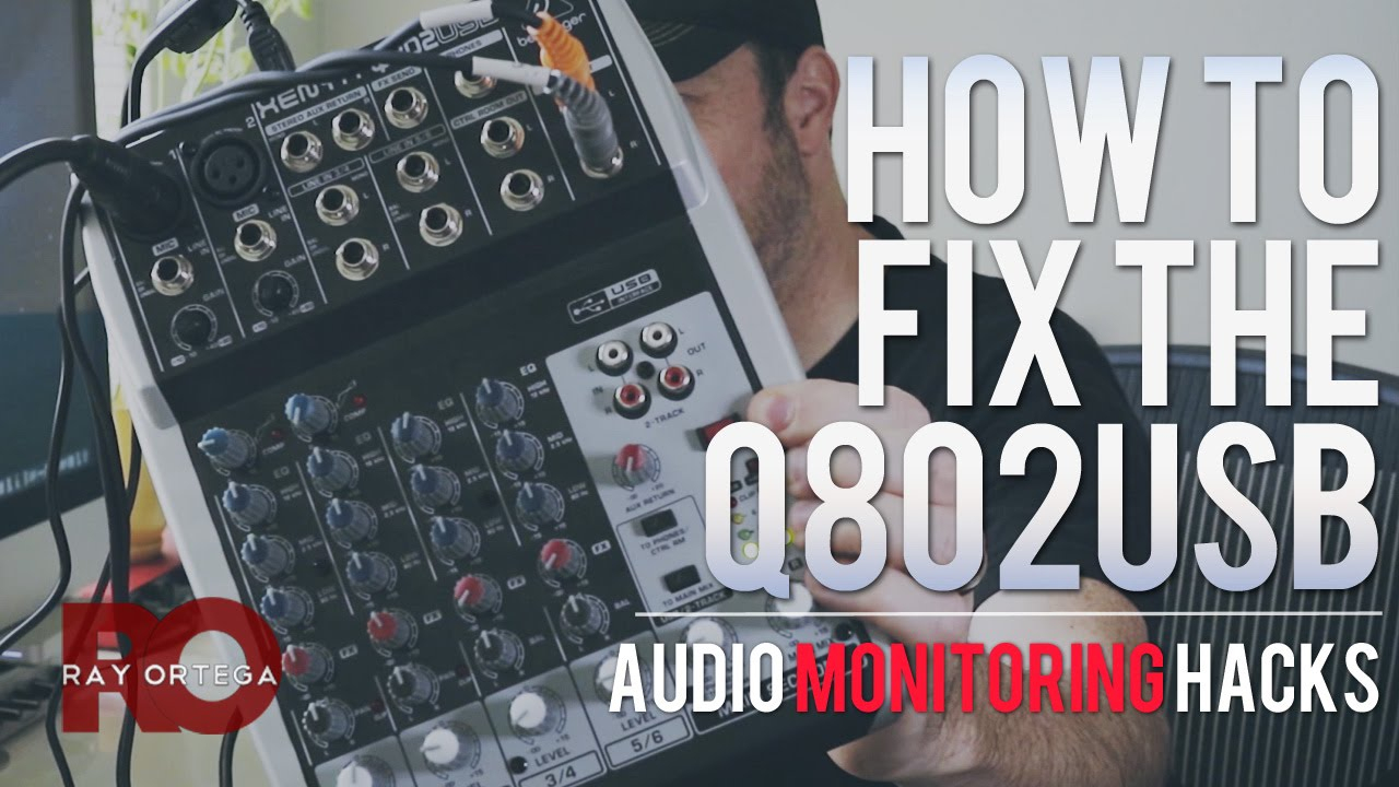 What's Wrong With The Behringer Q802Usb Mixer And How To Fix It - Behringer Q802 Usb Wiring Diagram For Podcasting