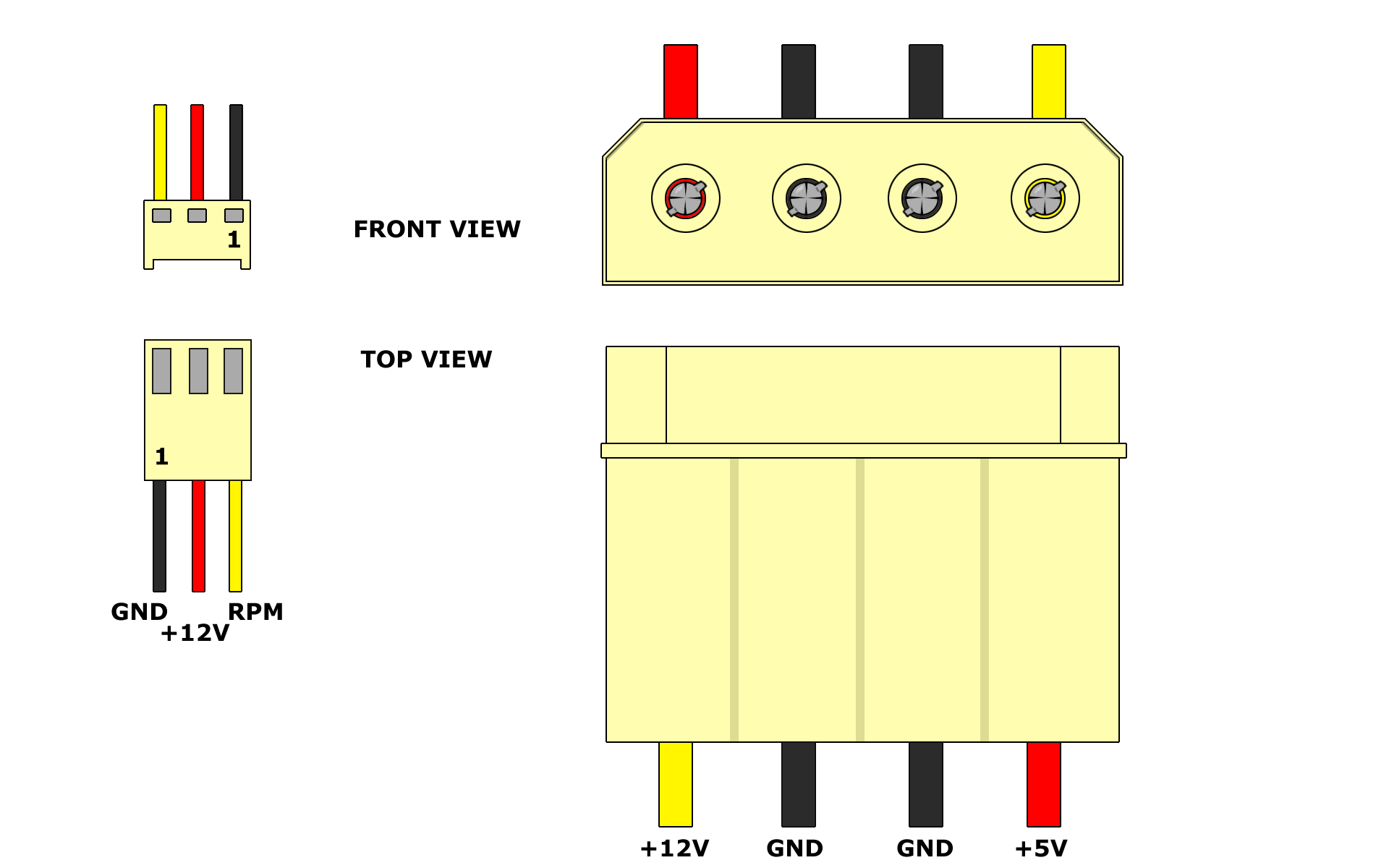 Which Wire Is Negative On This Pc Fan? - Electrical Engineering - Usb Mini Fan Wiring Diagram