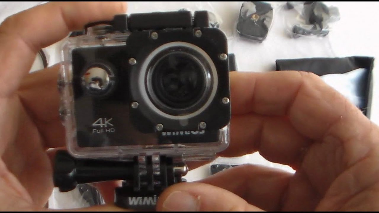 Wimius Q1 4K Action Camera Unboxed + How To Use, Including Wifi + - 4K Action Camera Micro Usb Wiring Diagram