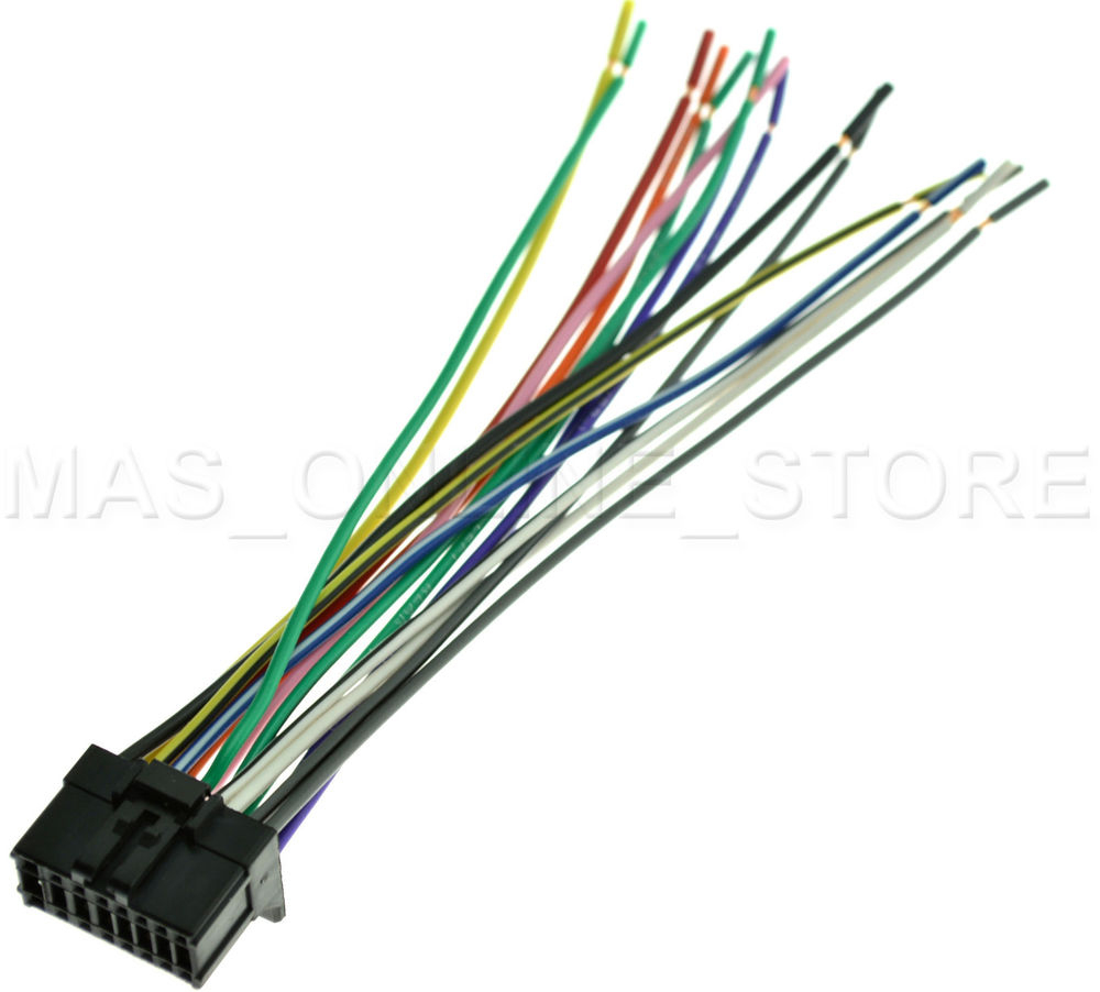 Wire Harness For Pioneer Avh-X3600Bhs Avhx3600Bhs *pay Today Ships - Avh-X3600Bhs Usb Wiring Diagram