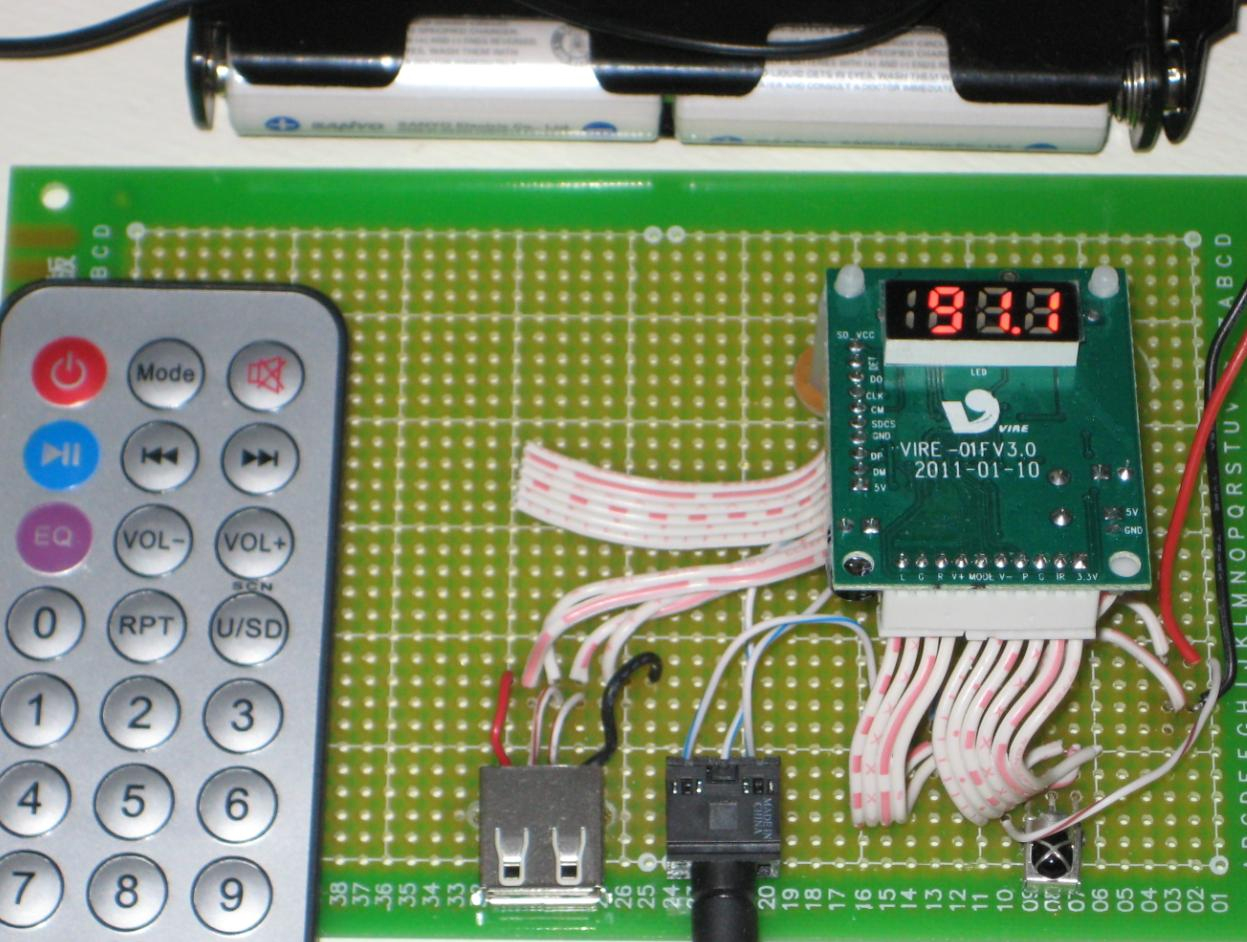 Wise Time With Arduino: Fm Radio + Mp3 Player Module - Usb Mp3 Module Wiring Diagram