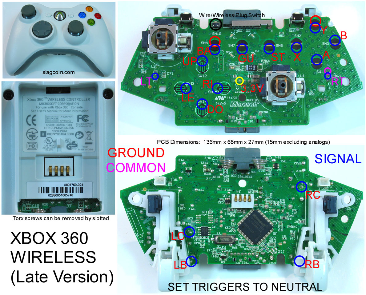 Xbox 360 Usb Controller Wiring Diagram | Manual E-Books - Wiring Diagram For A Usb Joystick