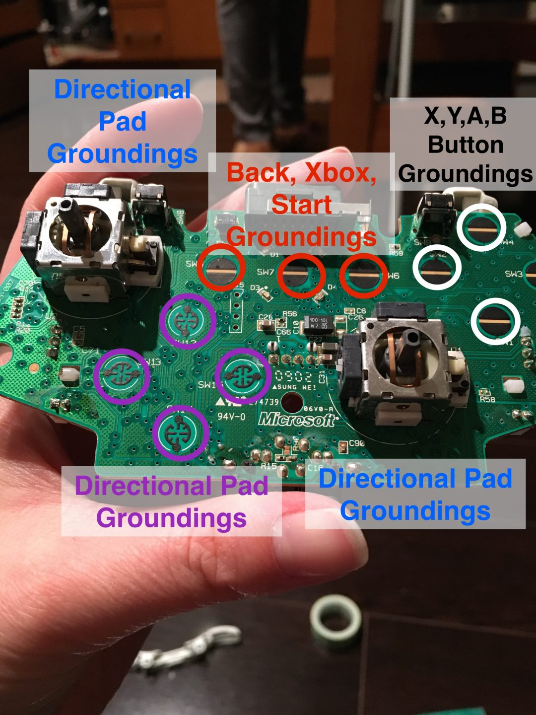 Xbox Wired Controller Wiring Diagrams | Wiring Diagram - Xbox 360 Controller Usb Wiring Diagram